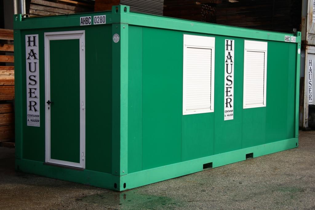 20' Bürocontainer, gebraucht